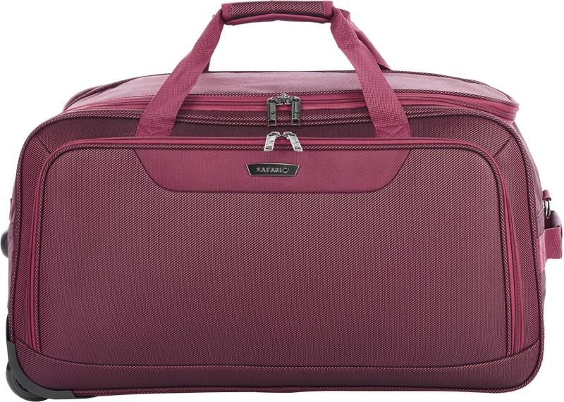 Safari 55 inch/140 cm ROCKIES-RDFL-55-RED Travel Duffel Bag(Red)