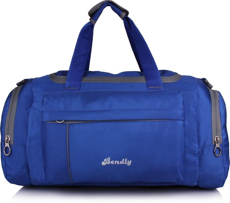 Bendly Vibrant Series Travel Duffel Bag(Blue)