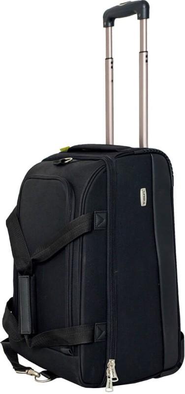 Timus Equator 55 inch/139 cm Duffel Strolley Bag(Black)