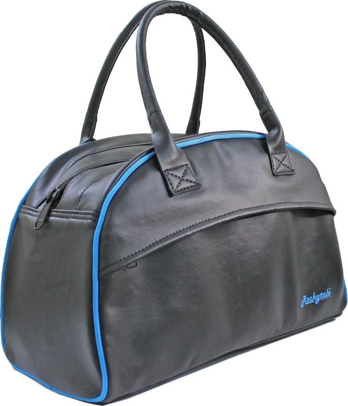 Rockytale 20 inch/50 cm BlueB Gym Bag(Black)