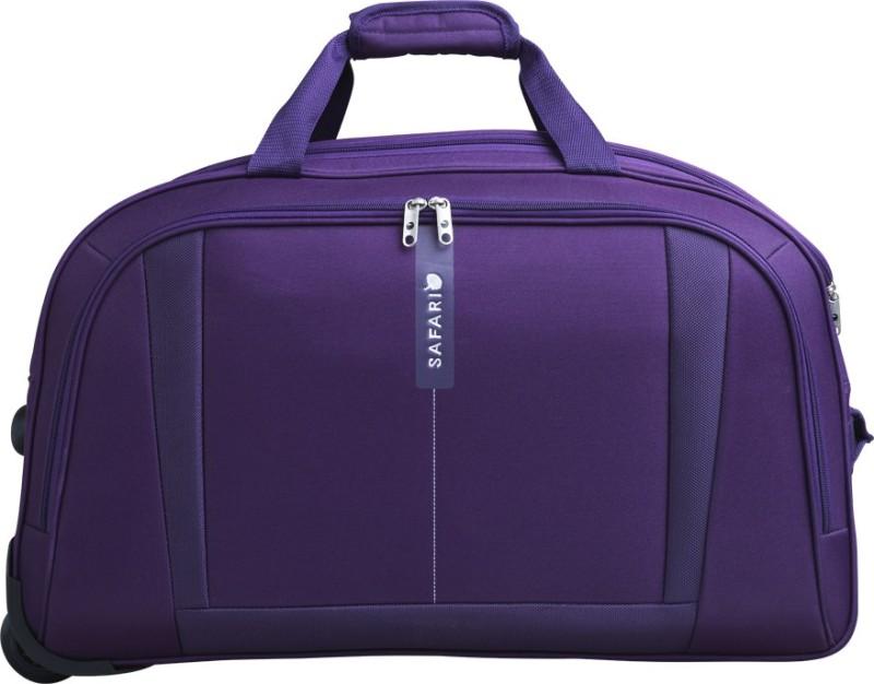 Safari Revv 18 inch/45 cm Duffel Strolley Bag(Purple)
