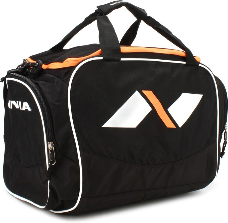Nivia 16 inch/42 cm Carrier Travel Duffel Bag(Black)