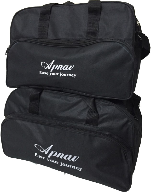 Apnav 16 inch/40 cm Travel Combo B Travel Duffel Bag(Black)
