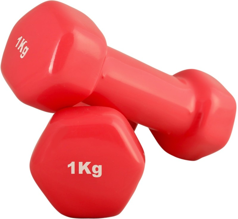 SportSoul VINYL Fixed Weight Dumbbell(2 Kg)
