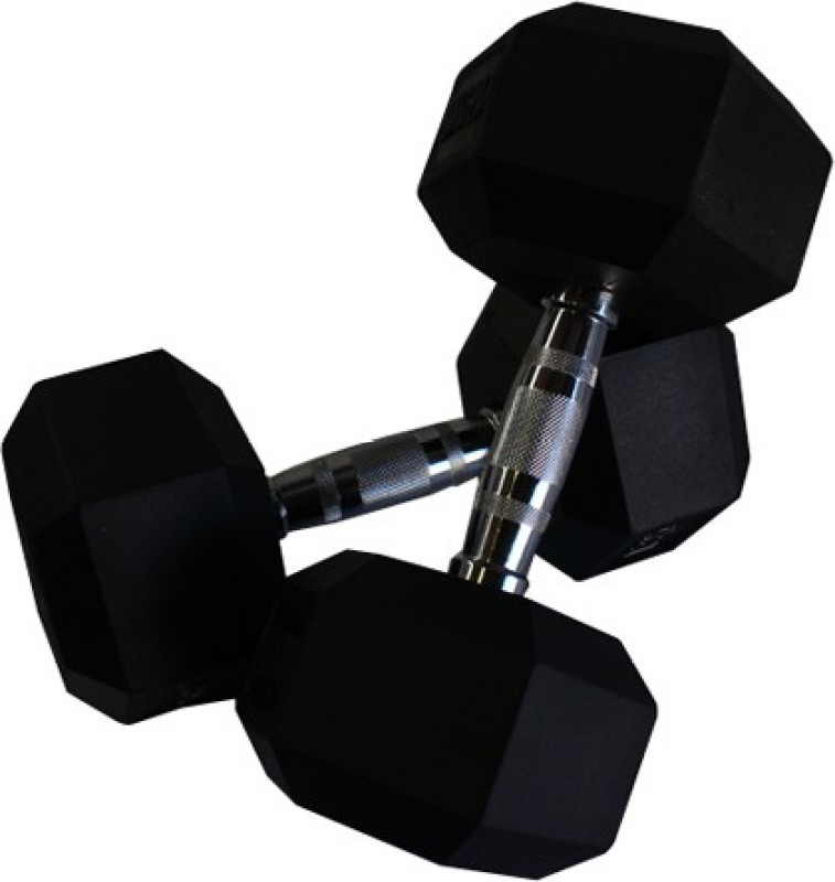 Indus Hexagonal Fixed Weight Dumbbell(5 Kg)