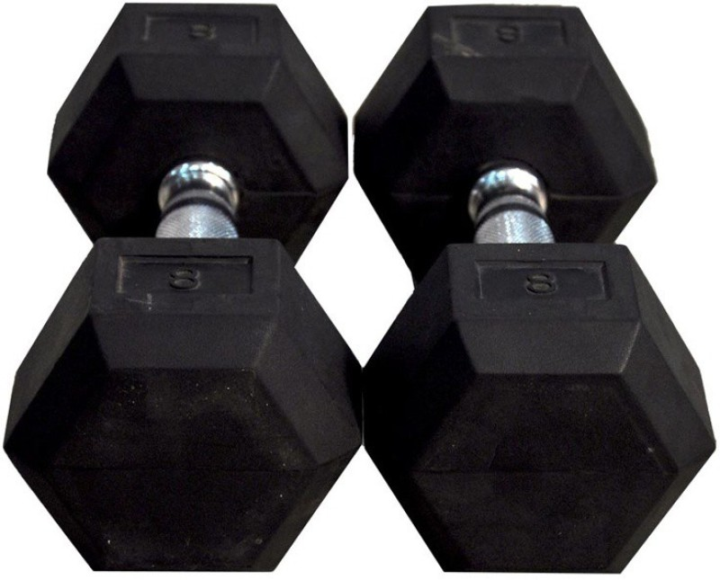 Tima Hexa Dumbbells 3kg Fixed Weight Dumbbell(6 Kg)