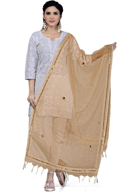Rani Saahiba Organza Embroidered Women's Dupatta