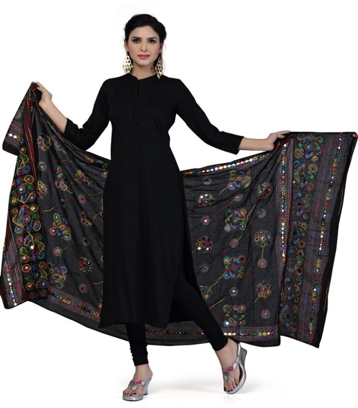 Rani Saahiba Cotton Embroidered Women's Dupatta