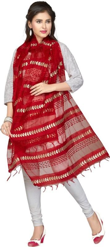 Rani Saahiba Organza Embellished Women's Dupatta