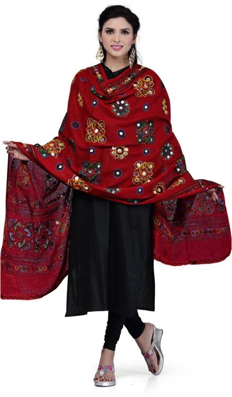 Rani Saahiba Cotton Embroidered Women's Dupatta