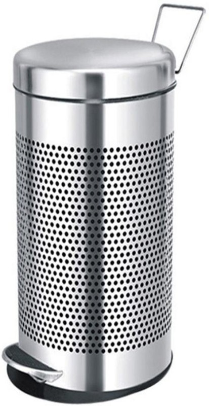 Saanvi Creations Stainless Steel Dustbin(Steel)