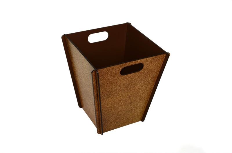 My Own Wood Dustbin(Brown)