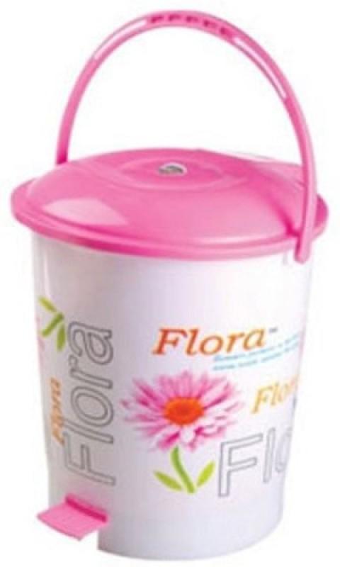 Nayasa Plastic Dustbin(Pink)