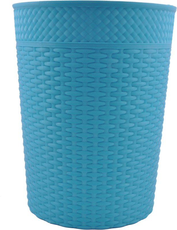 Polyset Plastic Dustbin(Blue, Pack of 2)