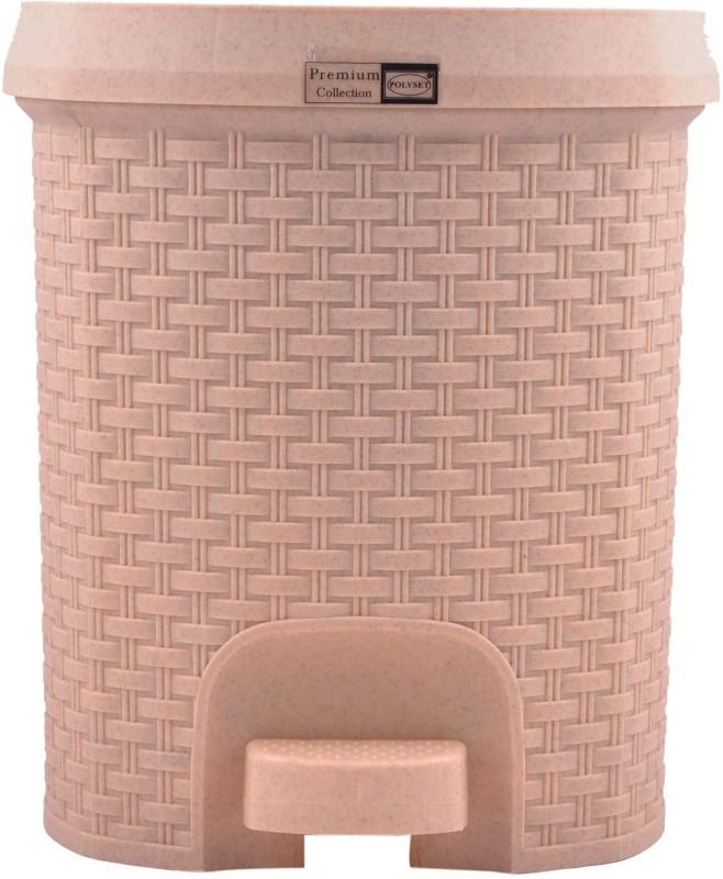 Polyset Plastic Dustbin(Beige)