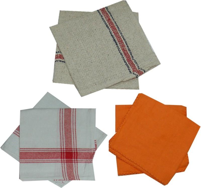 Aaditri Enterprises Wet and Dry Duster Set(Pack of 6)