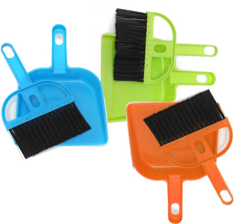 Goldcave Plastic Dustpan(Multicolor)