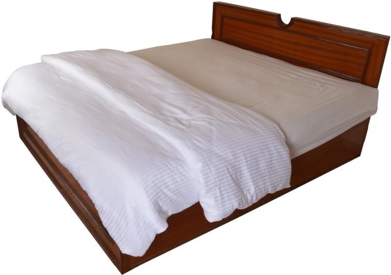 Linenwalas King Cotton Duvet Cover(White, Multicolor)