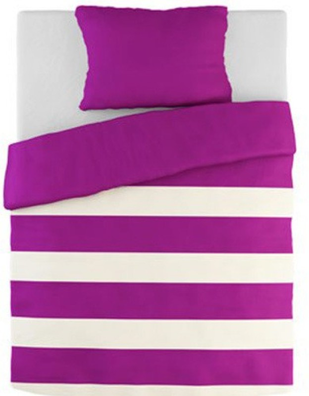 Tezerac Single Satin Duvet Cover(Purple)