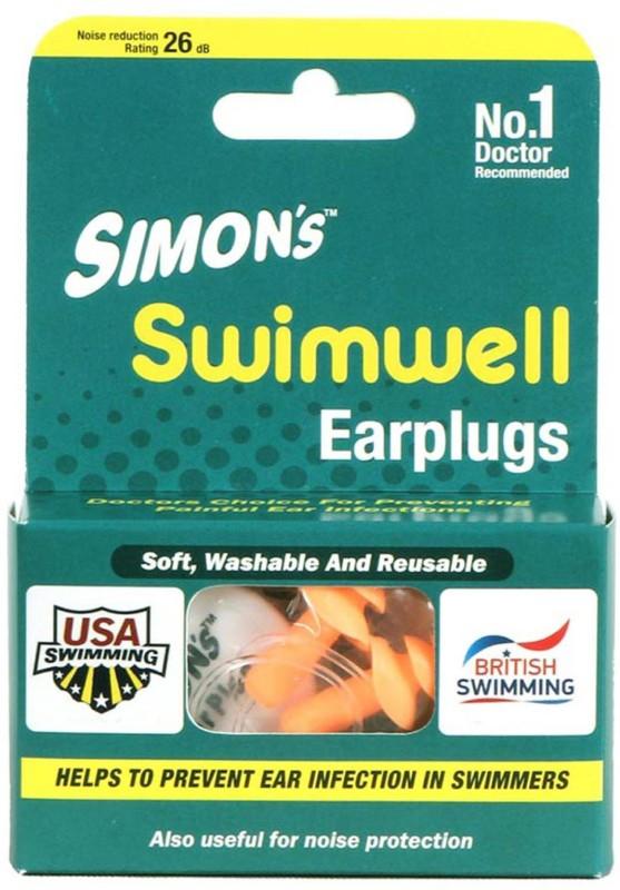 Simon's Swimwell - 4 pairs Ear Plug(Orange)