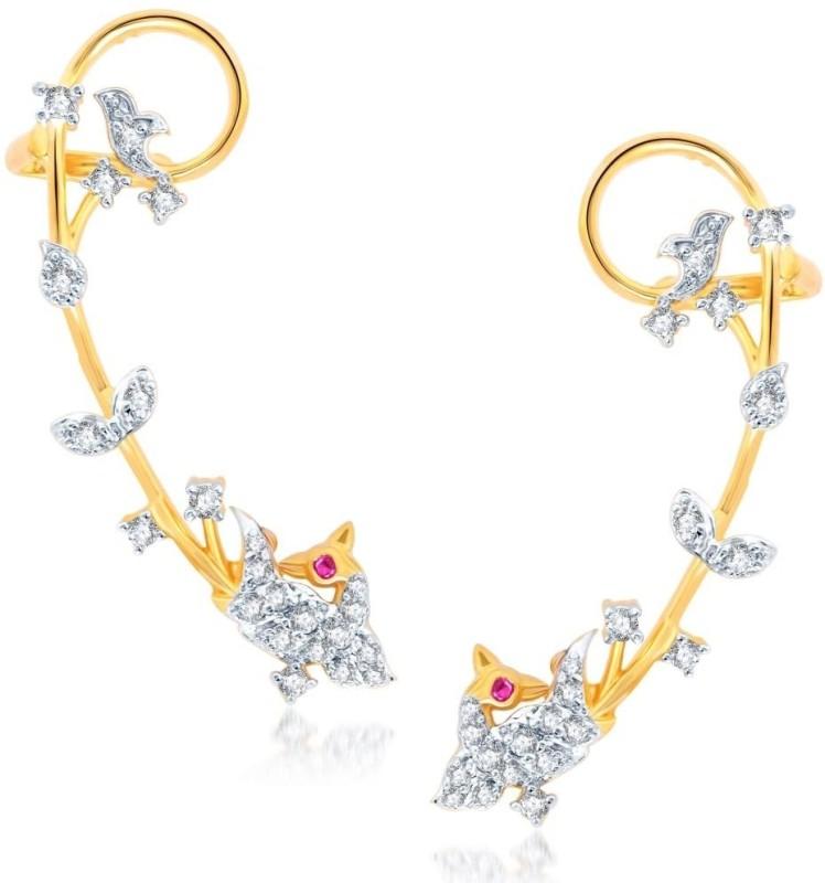 Sukkhi Cubic Zirconia Alloy Cuff Earring