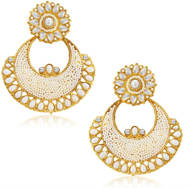 Sukkhi Beguiling Alloy Chandbali Earring
