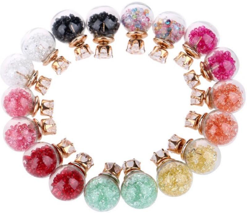 Jewels Galaxy Trendy Glass Earring Set