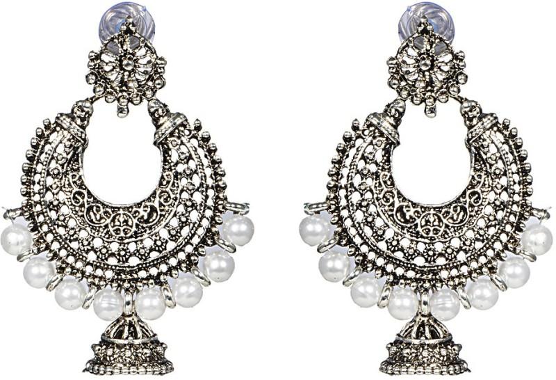 Jhumkis - Oxidised Jewellery - jewellery