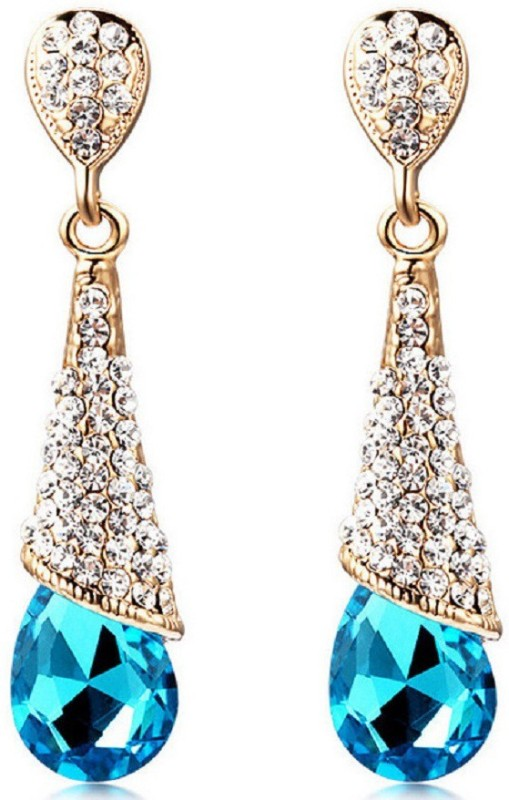 Up To 80% Off - Blue Coloured Earrings