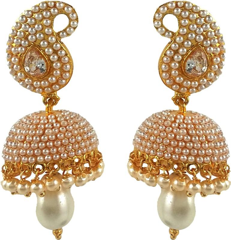 Aradhya Beads Metal Jhumki Earring