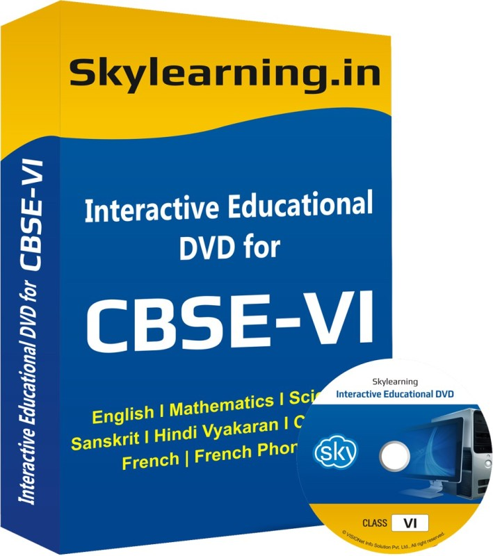 Skylearning.In All in One Combo for Class 6(CD)