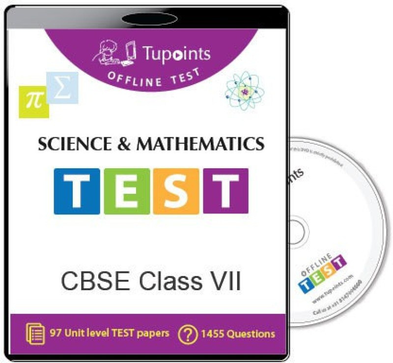 tupoints-cbse-class-7-science-and-mathematics-offline-testdvd
