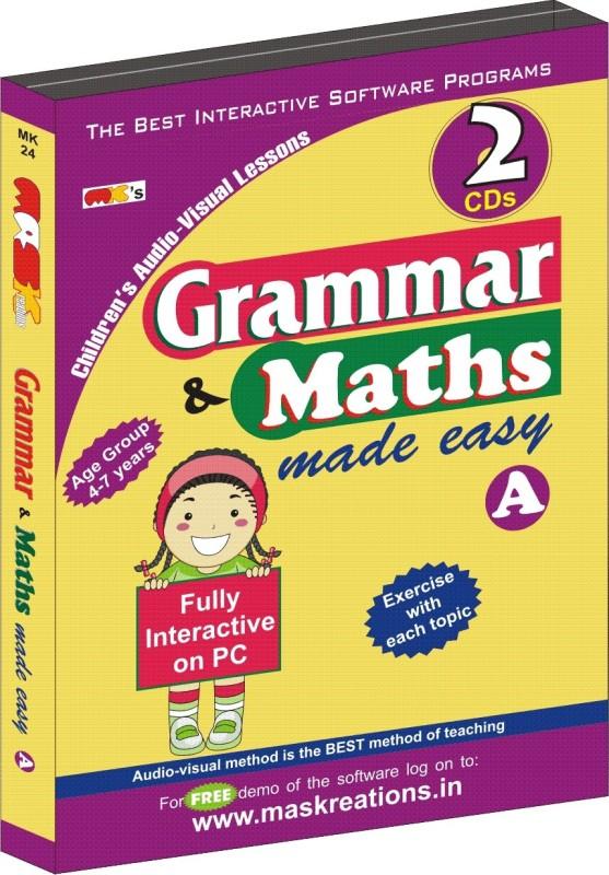 MAS Kreations Grammar & Maths Made Easy-A(CD)