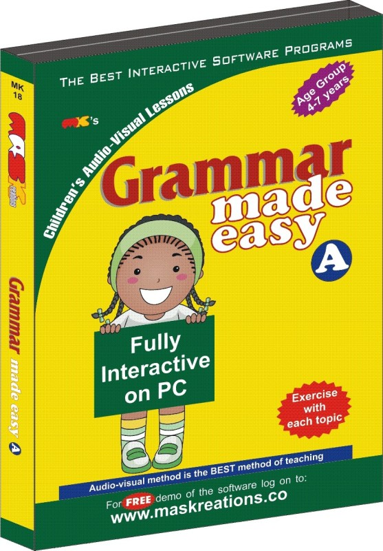 MAS Kreations Grammar Made Easy-A(CD)