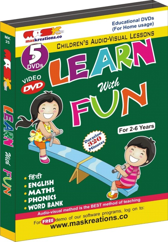 MAS Kreations Learn with Fun (5 DVD Pack)(DVD)