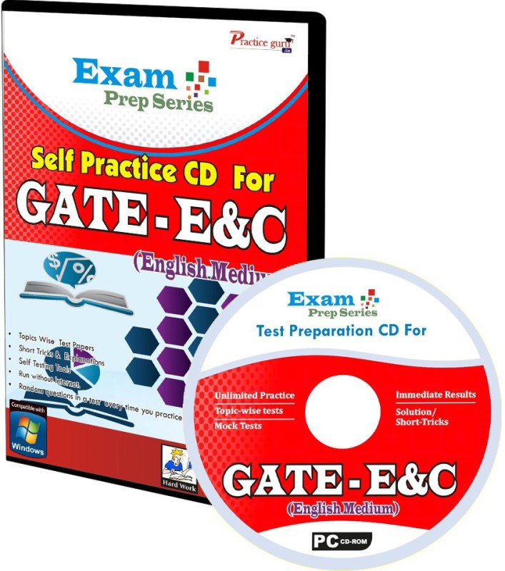 Practice Guru Exam Prep For GATE - Electronics & Communication(CD) Exam Prep For GATE - Electronics & Communication