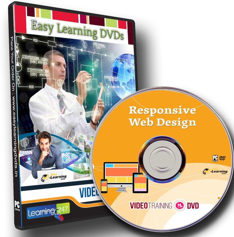 Easylearning Learn Responsive Web Design Video Training Tutorial DVD(DVD)