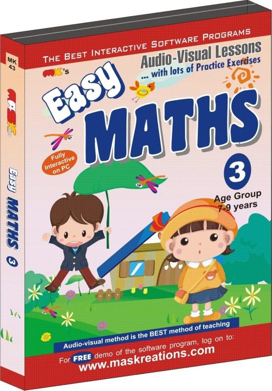 MAS Kreations Easy-Maths-3(CD)