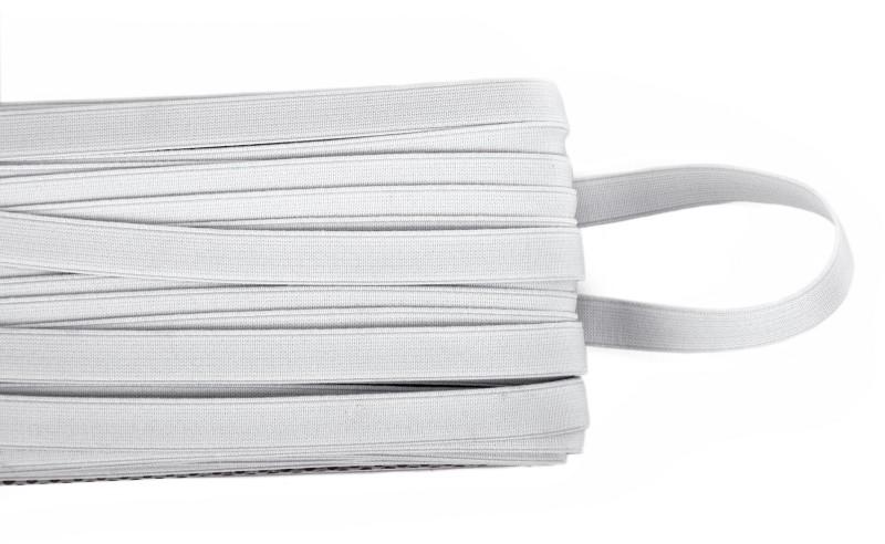 Vardhman Woven White Elastic(10 m)