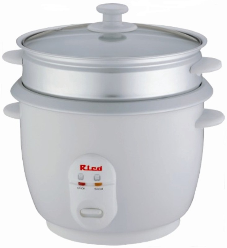 Rico RC907 Electric Rice Cooker(White)