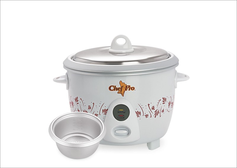 Chef Pro CPR910 Electric Rice Cooker(1.8 L, White)