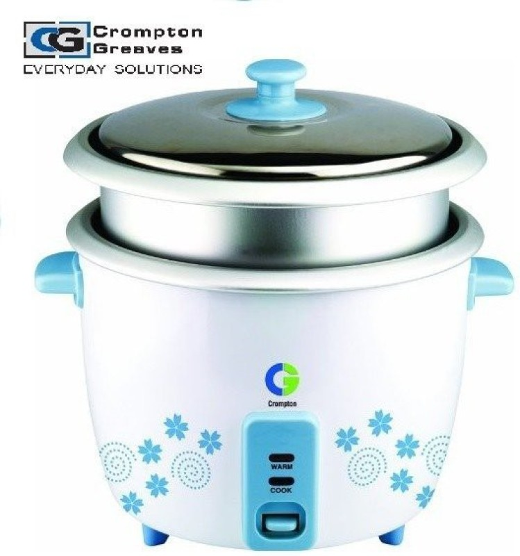 Crompton CGRC-MRC 92 Electric Rice Cooker(1.8 L, White)