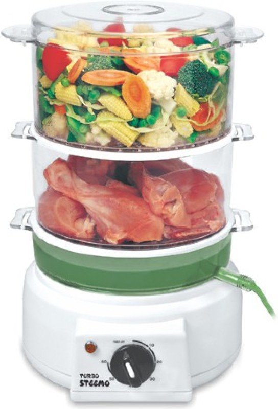STEEMO STEEMO1 Food Steamer, Rice Cooker, Travel Cooker, Slow Cooker, Egg Boiler, Egg Cooker(4 L, Multicolor)