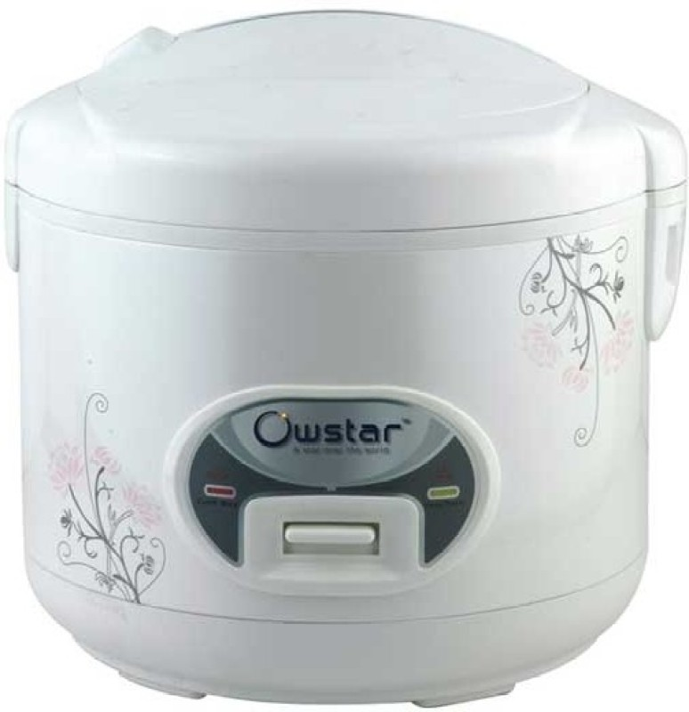 Ovastar OWRC-2004 Electric Rice Cooker(1.8 L, White)