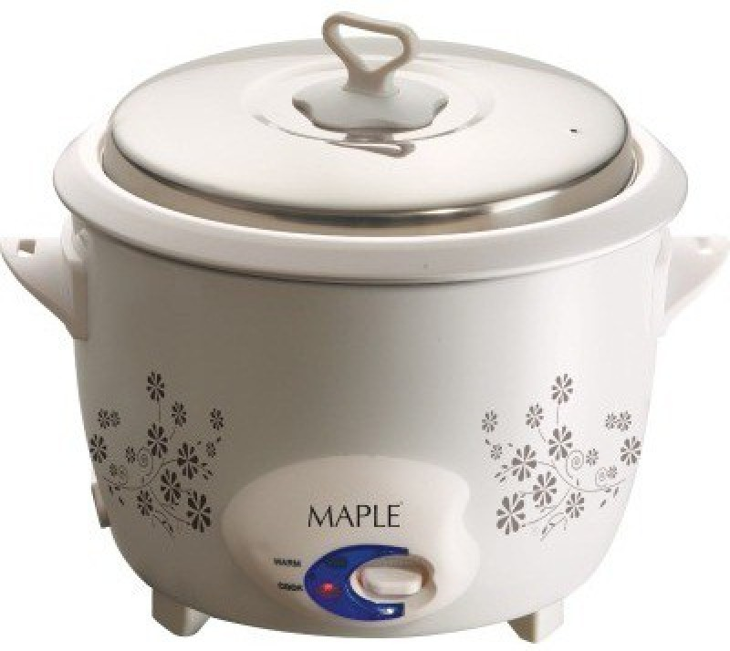 MAPLE Fiesta Electric Rice Cooker(2.8 L, White)