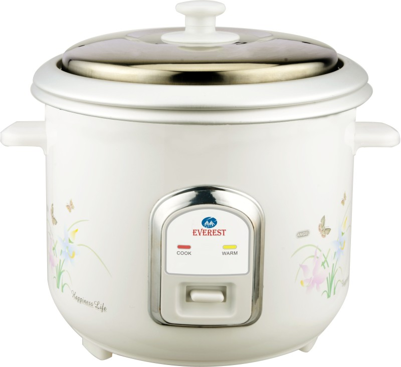 Everest EV 18 Electric Rice Cooker(1.8 L, White)