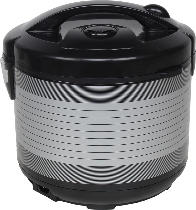 Nikitasha NT-RC-020 Electric Rice Cooker with Steaming Feature(2.0 L, Black, Grey)