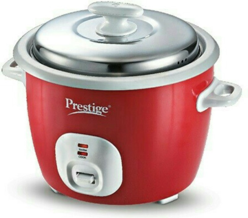 Prestige CUTE 1.8-2 Electric Rice Cooker with Steaming Feature(1.8 L,...