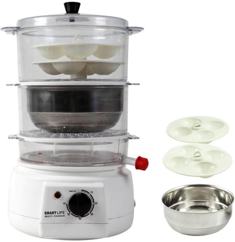 Smartlife SL-MC Food Steamer(1 L, White)