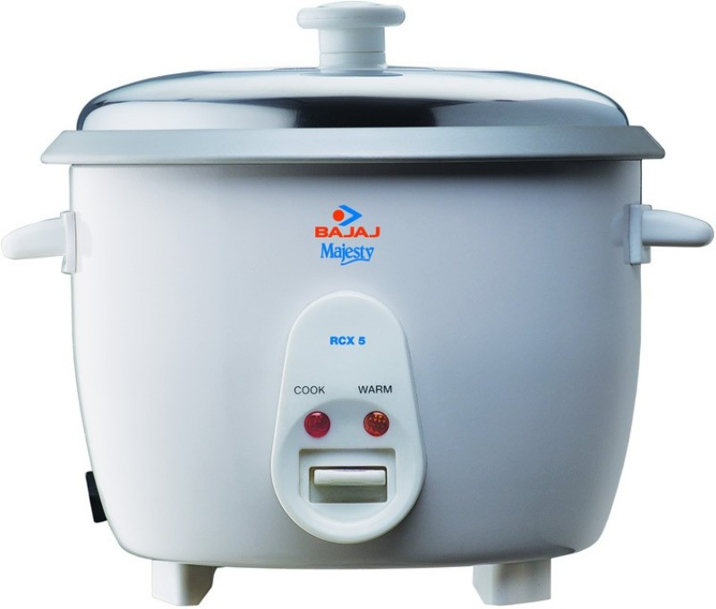 Bajaj RCX 5 Electric Rice Cooker(1.8 L, White)